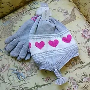 Girls Hat & Gloves by CARTER'S